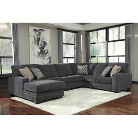 Tracling 3 Piece Sectional Slate
