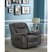 Conrad Transitional Grey Glider Recliner