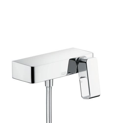 Polished Gold Optic Single lever shower mixer for exposed installation
