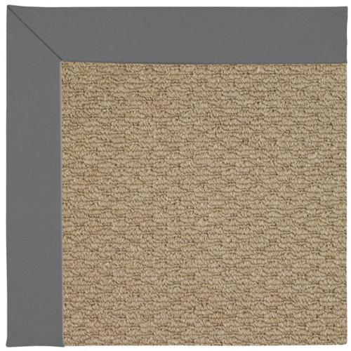 "Capel Rugs - Creative Concepts-Raffia Canvas Charcoal - Rectangle - 24"" x 36"""