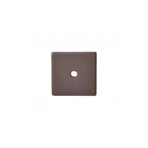 Square Backplate 1 1/4 Inch - Oil Rubbed Bronze