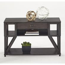 Sofa/Console Table - Midnight Oak Finish