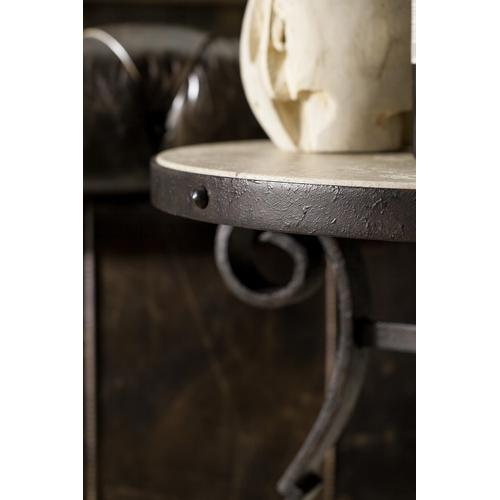 Hooker Furniture - Luckenbach Metal and Stone End Table