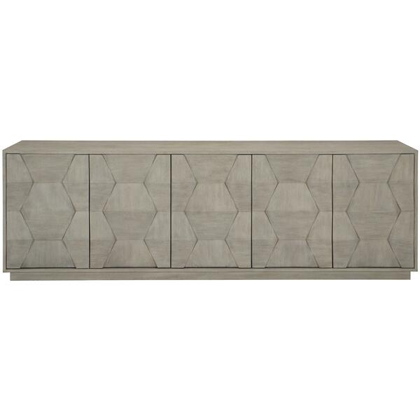 See Details - Linea Entertainment Console in Cerused Greige (384)