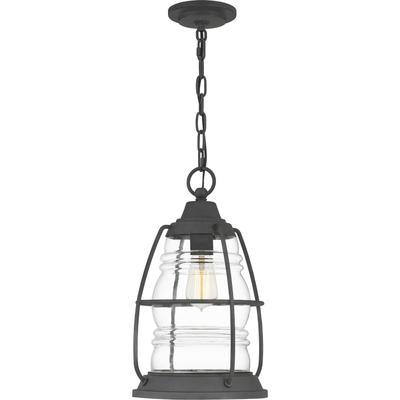 See Details - Admiral Outdoor Lantern in Mottled Black