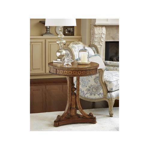 Linguist Lamp Table