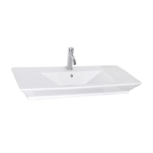"Opulence 39-1/2"" Above Counter Basin ""His"" - Single-Hole"