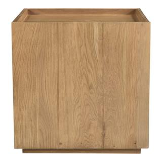 See Details - Plank Nightstand Natural