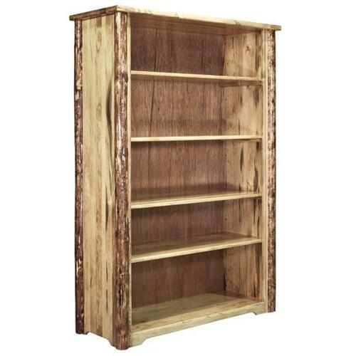 Glacier Country Collection Bookcase with Adjustable Shelves