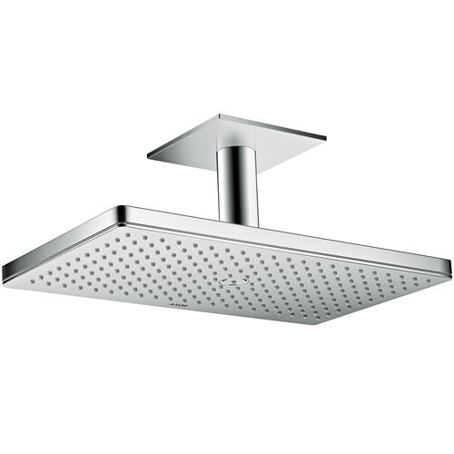 Polished Black Chrome Overhead shower 460/300 1jet with ceiling connection