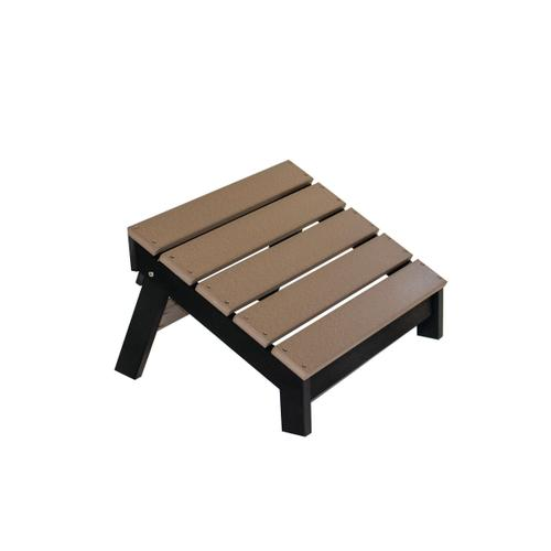 Mayhew Folding Adirondack Footstool