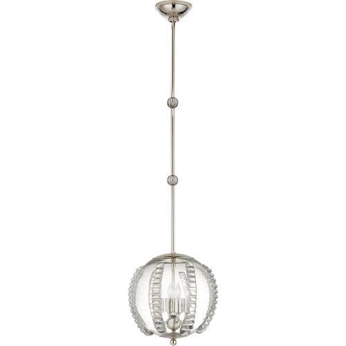 AERIN Gisela 4 Light 13 inch Polished Nickel Globe Pendant Ceiling Light, Medium