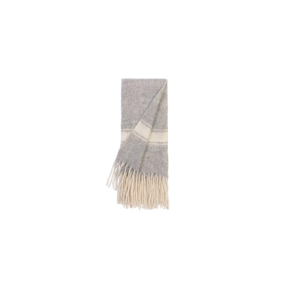 Luca Merino Throw Grey
