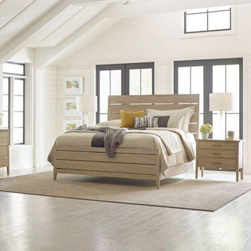 Symmetry Incline Cal King Queen Bed High Footboard