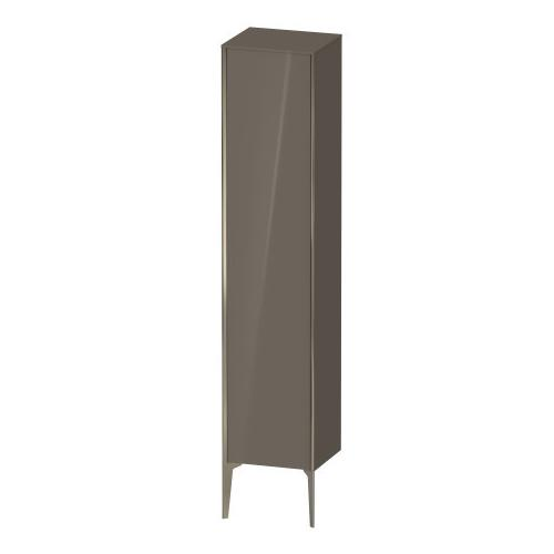 Tall Cabinet Floorstanding, Flannel Gray High Gloss (lacquer)