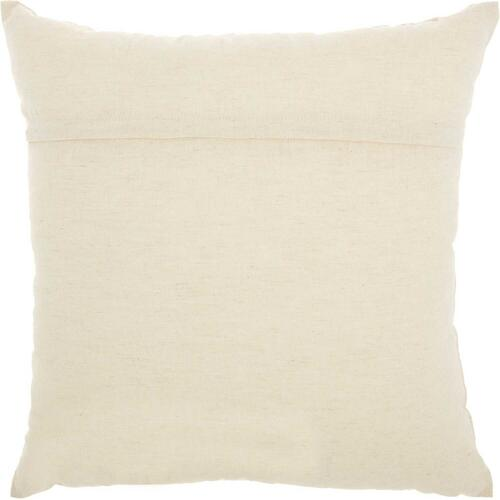 "Trendy, Hip, New-age Rn001 Natural 18"" X 18"" Throw Pillow"