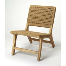 See Details - This accent chair will induce a rustic island, yet transitional vibe, with the variation of neutral brown hues all around its surface. The chair has a heightened textural effect with its sturdy jute seating, handwoven by Indian artisans. Its silhouette will ensure uncompromised comfort and the style will certainly be a conversation starter. The handcrafting of our products creates unique pieces, each with their own characteristics and variations. Lend a breezy touch to any seating group .
