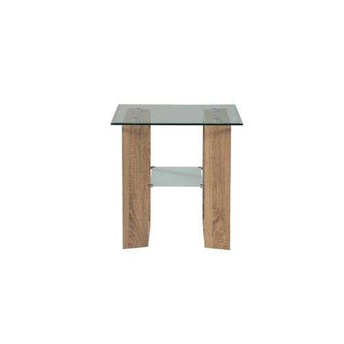 Modena End Table Complete - Beech