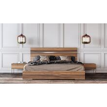 See Details - Nova Domus Lorenzo Italian Modern Light Oak Bed