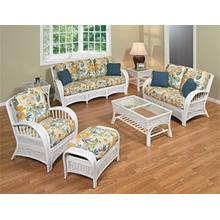 See Details - S-519 Cottage White Wicker/Rattan
