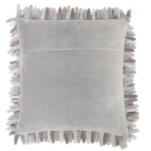 "Life Styles Ys103 Grey 20"" X 20"" Throw Pillow"