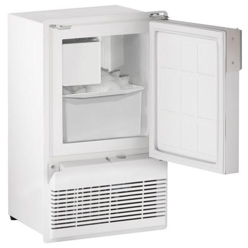 """Wh95fc 14"""" Crescent Ice Maker With White Solid Finish (115 V/60 Hz Volts /60 Hz Hz)"""