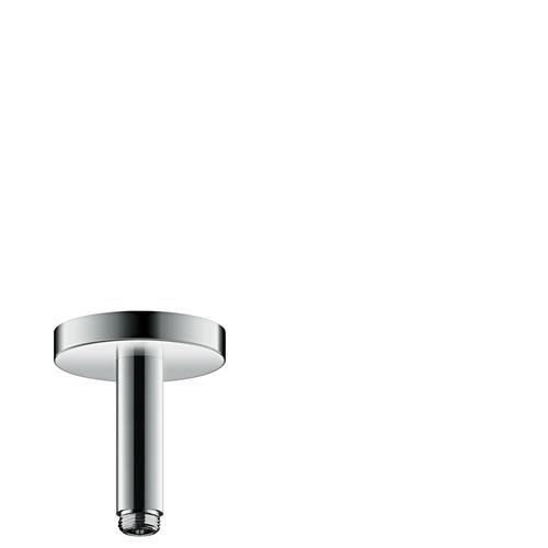 Brushed Nickel Ceiling connector 100 mm