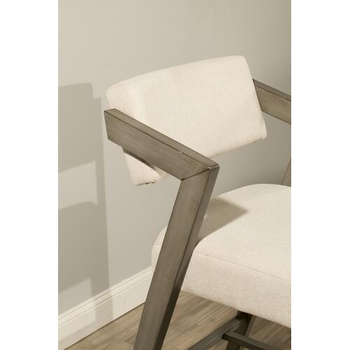 Snyder Non-swivel Bar Height Stool - Aged Gray