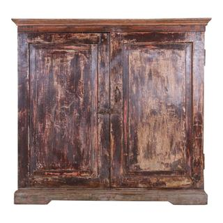 Antique Wood Sideboard Ue27