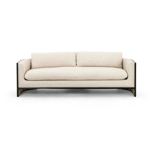 Brushed Ebony Finish June Sofa