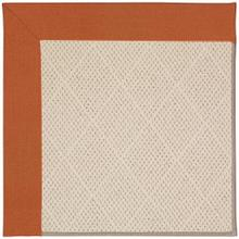"""View Product - Creative Concepts-White Wicker Canvas Rust - Rectangle - 24"""" x 36"""""""