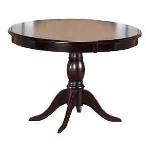 Bayberry Round Dining Table, Dark Cherry