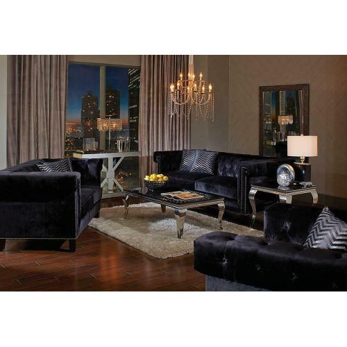 Reventlow Formal Black Chair