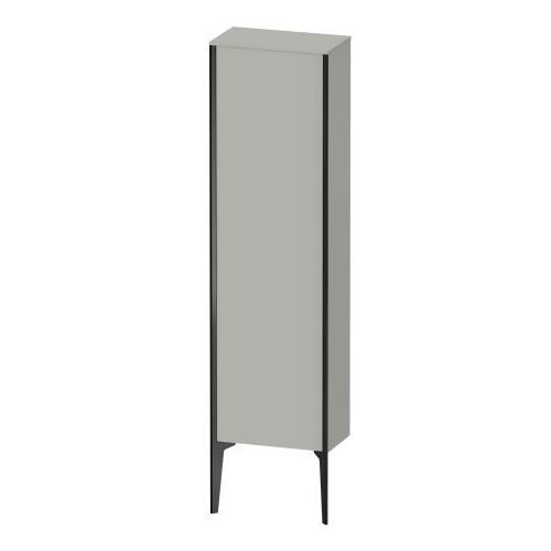 Semi-tall Cabinet Floorstanding, Concrete Gray Matte (decor)
