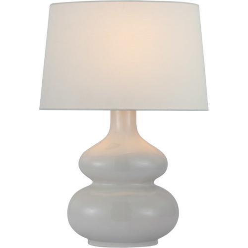 Visual Comfort - Chapman & Myers Lismore 24 inch 15.00 watt Ivory Table Lamp Portable Light, Medium