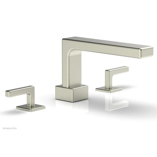 MIX Deck Tub Set - Lever Handles 290-41 - Satin Nickel