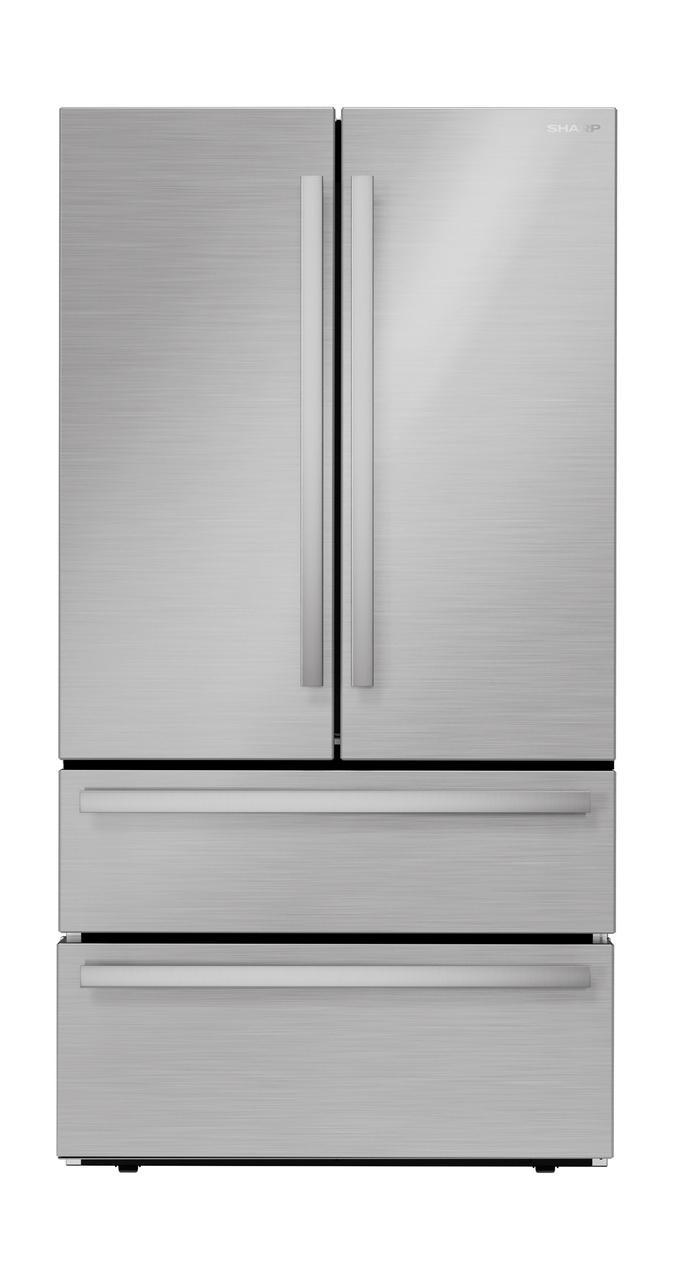 SharpSharp French 4-Door Counter-Depth Refrigerator