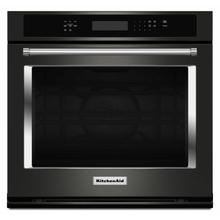 """See Details - 30"""" Single Wall Oven with Even-Heat™ True Convection - Black Stainless Steel with PrintShield™ Finish"""