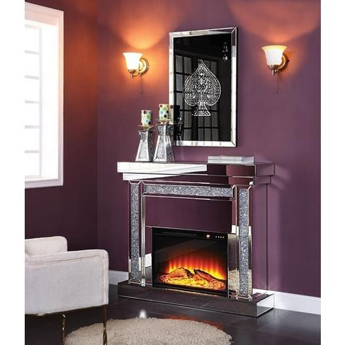 Noralie Glam Fireplace