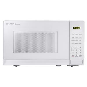 Sharp0.7 cu. ft. 700W Sharp White Carousel Countertop Microwave Oven