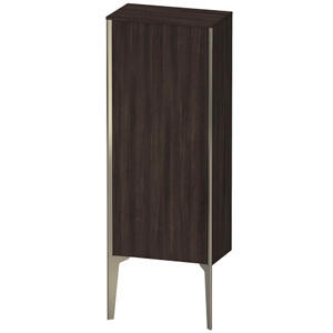 Semi-tall Cabinet Floorstanding, Chestnut Dark (decor)