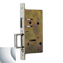 Polished Chrome 8603 Pocket Door Strike with Pull