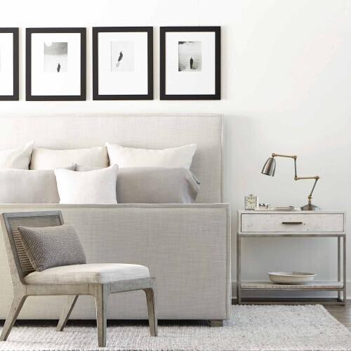 Bernhardt - Alvar Nightstand in Brushed White
