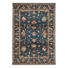 "Landis-Keshan Cerulean Blue - Rectangle - 3'3"" x 4'10"""