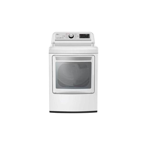 7.3 CU.FT Electric Dryer With Turbosteam®