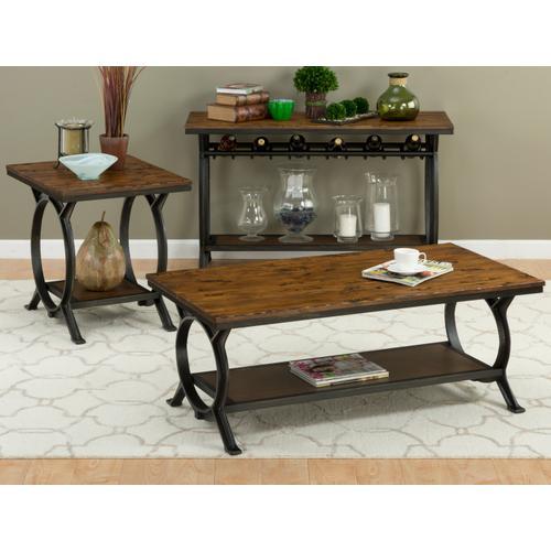 Jofran - Harper Press Sofa Table