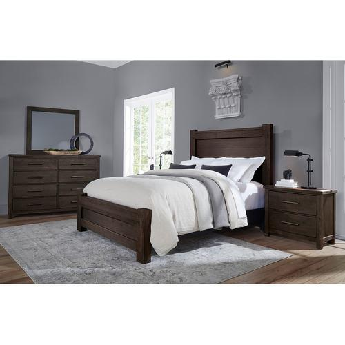 Vaughan-Bassett - King Poster Bed with Poster FB