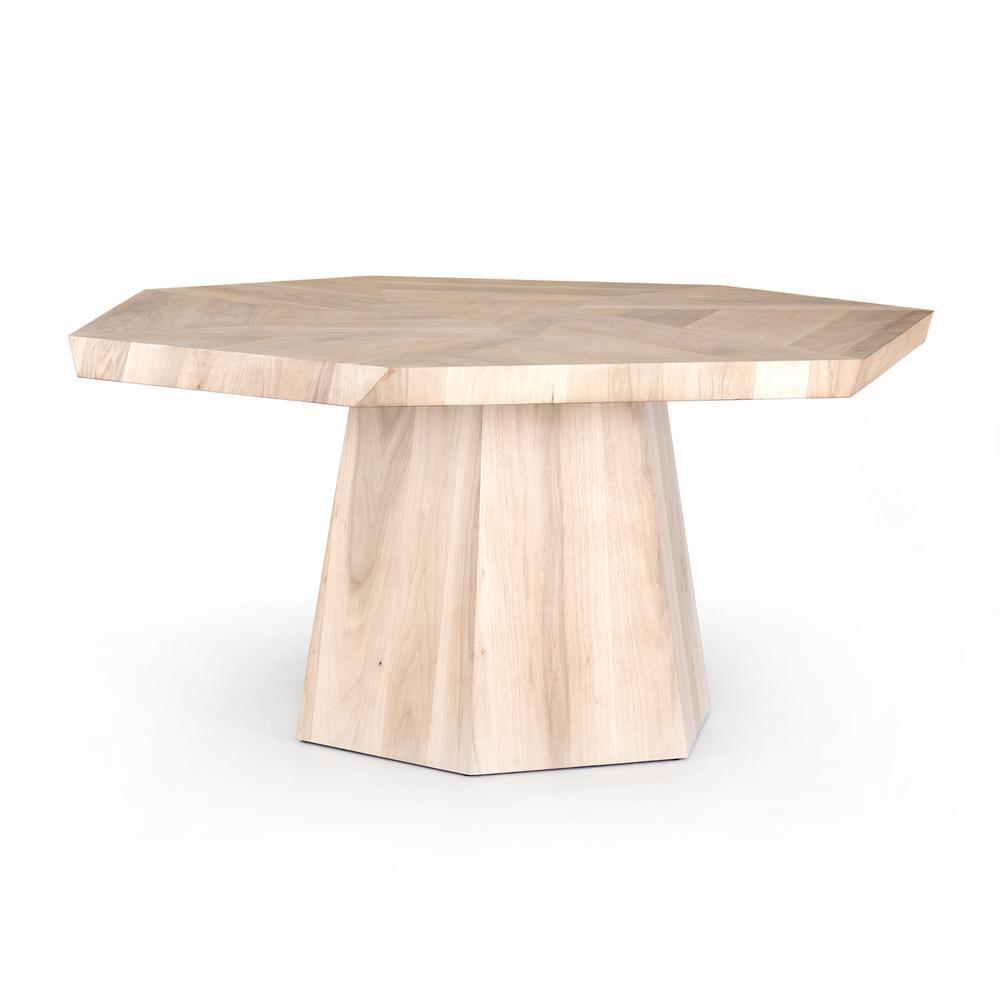 See Details - Ashen Walnut Finish Brooklyn Dining Table