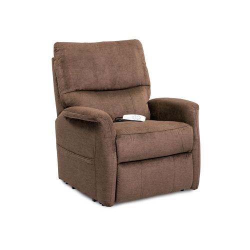 Three-Position Power Recline Lift Chair or Power Recliner - Polo Club Java (Brown)