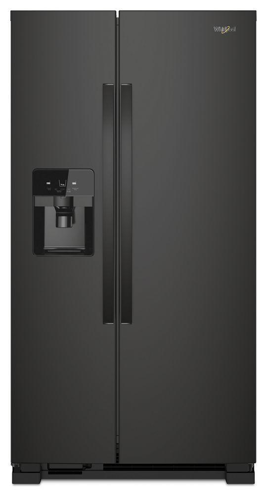 Whirlpool36-Inch Wide Side-By-Side Refrigerator - 25 Cu. Ft.